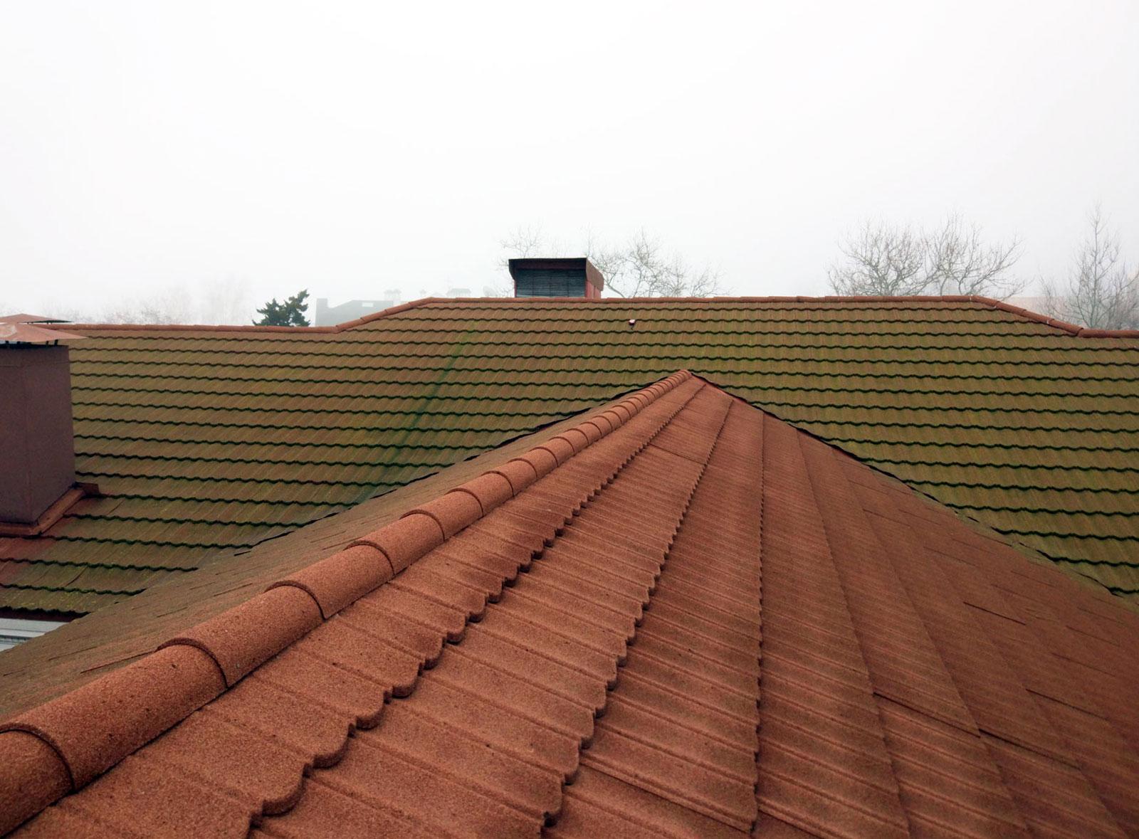 уборка крыши